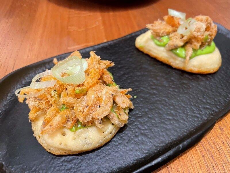 RESTAURANTES CADIZ - CICLO tortitas camarones