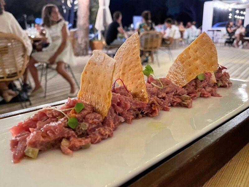 RESTAURANTES CADIZ - VIDA PADRE steak tartar de ibérico