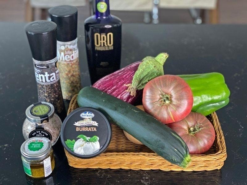 ingredientes receta ratatouille