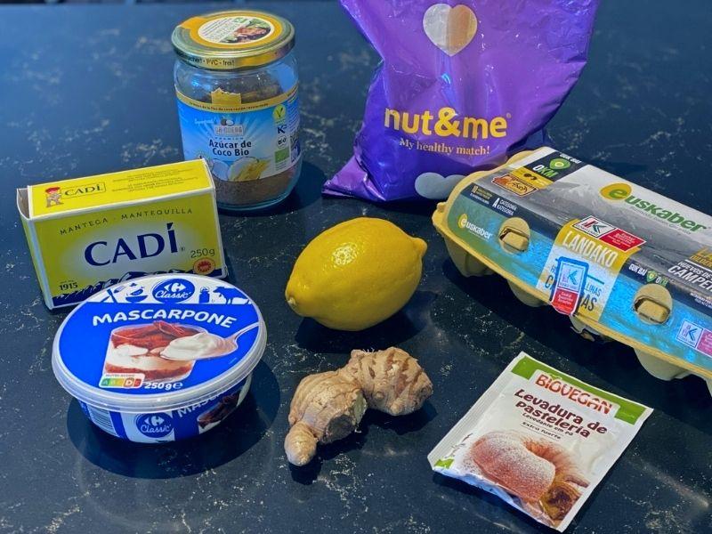 receta de bizcocho de limón glaseado