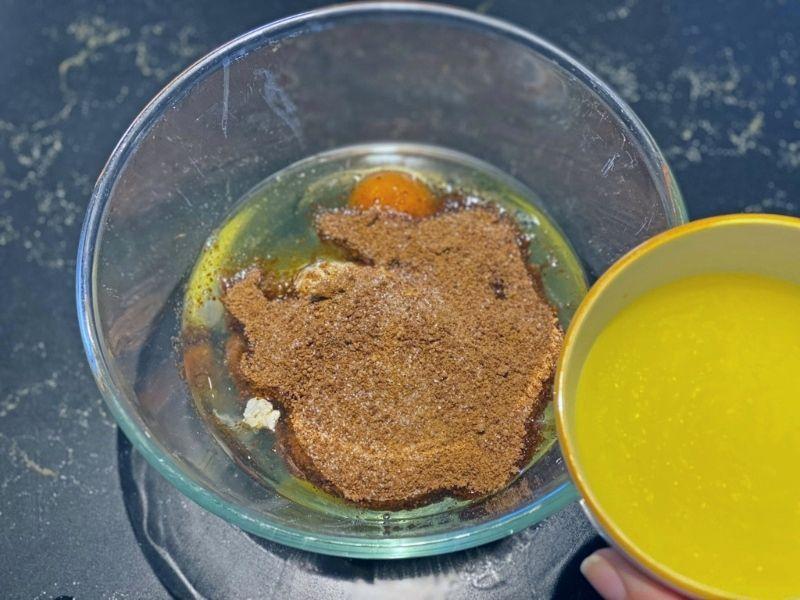 ingredientes receta de bizcocho de limón glaseado