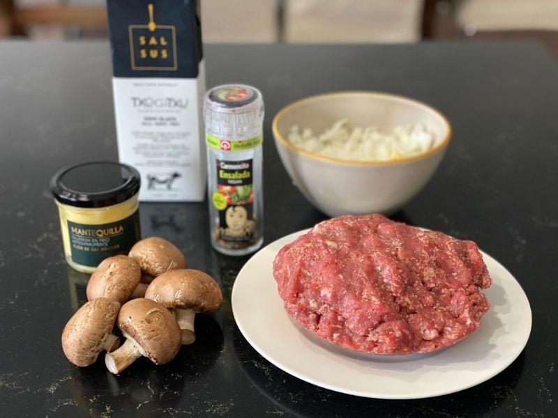 ingredientes receta filetes rusos