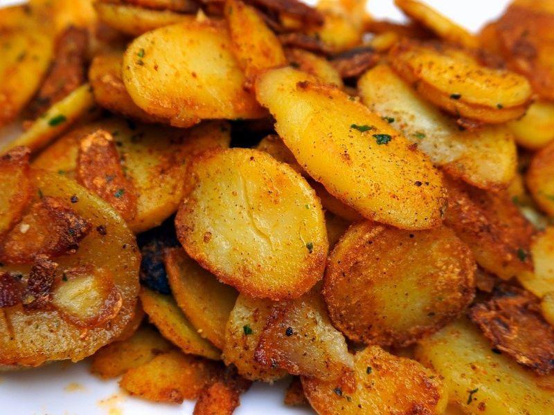 freidora sin aceite patatas