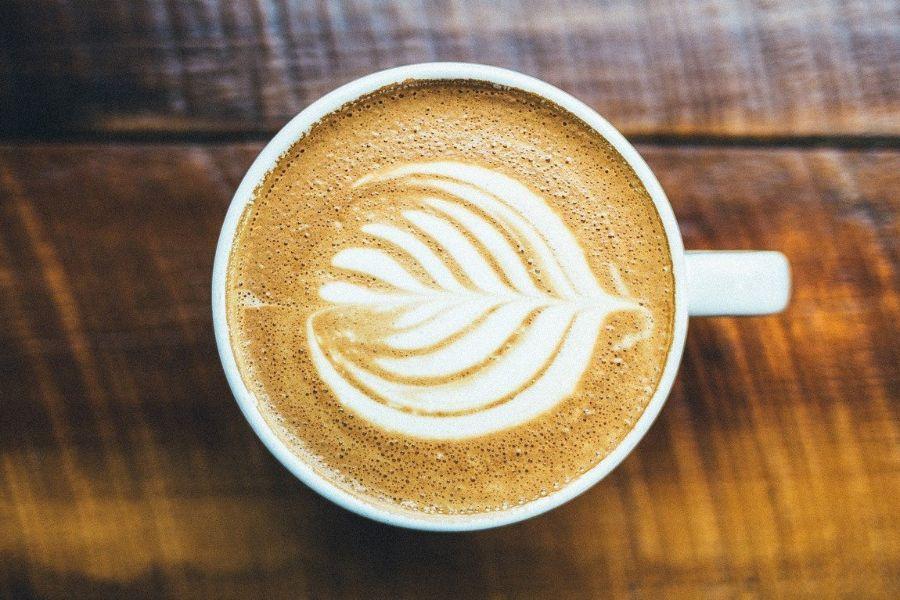 un buen día con café con leche