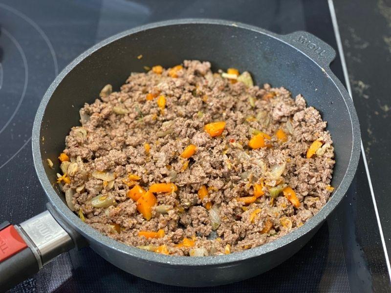 ingredientes receta pimientos rellenos