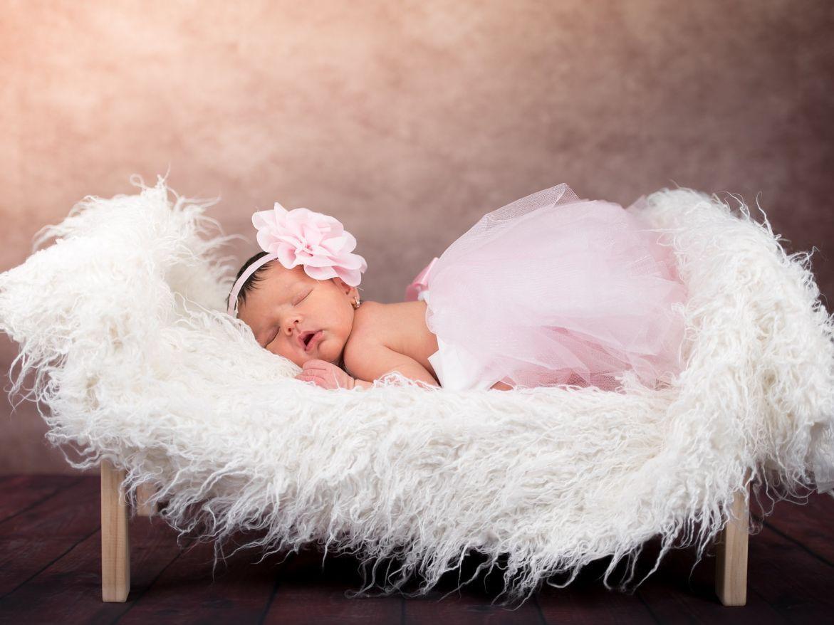 bebé pijama rosa